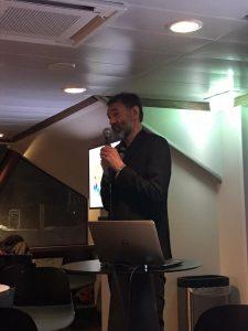 Сигурд Энге на презентации видения Беллоны на проблему использования СОТ в Арктике