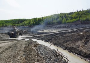 gold mining Mine water pollution