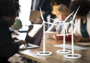renewable wind energy office