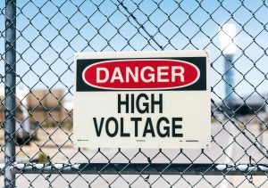 high voltage danger