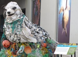 Smithsonian's National Zoo  Washed Ashore Art to Save the Sea ocean plastic waste