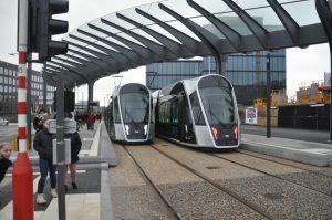 Luxemburg tram