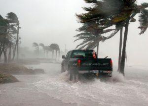 Tropical huricane