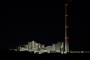 Free image/jpeg Resolution: 5184x3456, File size: 2.01Mb, Waste incineration plant at night, germany, ruhr
