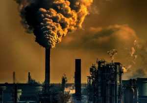 pipe industrial pollution