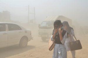 Air pollution Dhaka Bangladesh