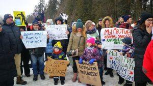 Pervomayskoe protest