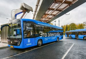 electric bus moscow